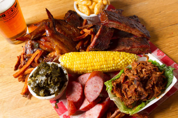 BBQ meat spread
