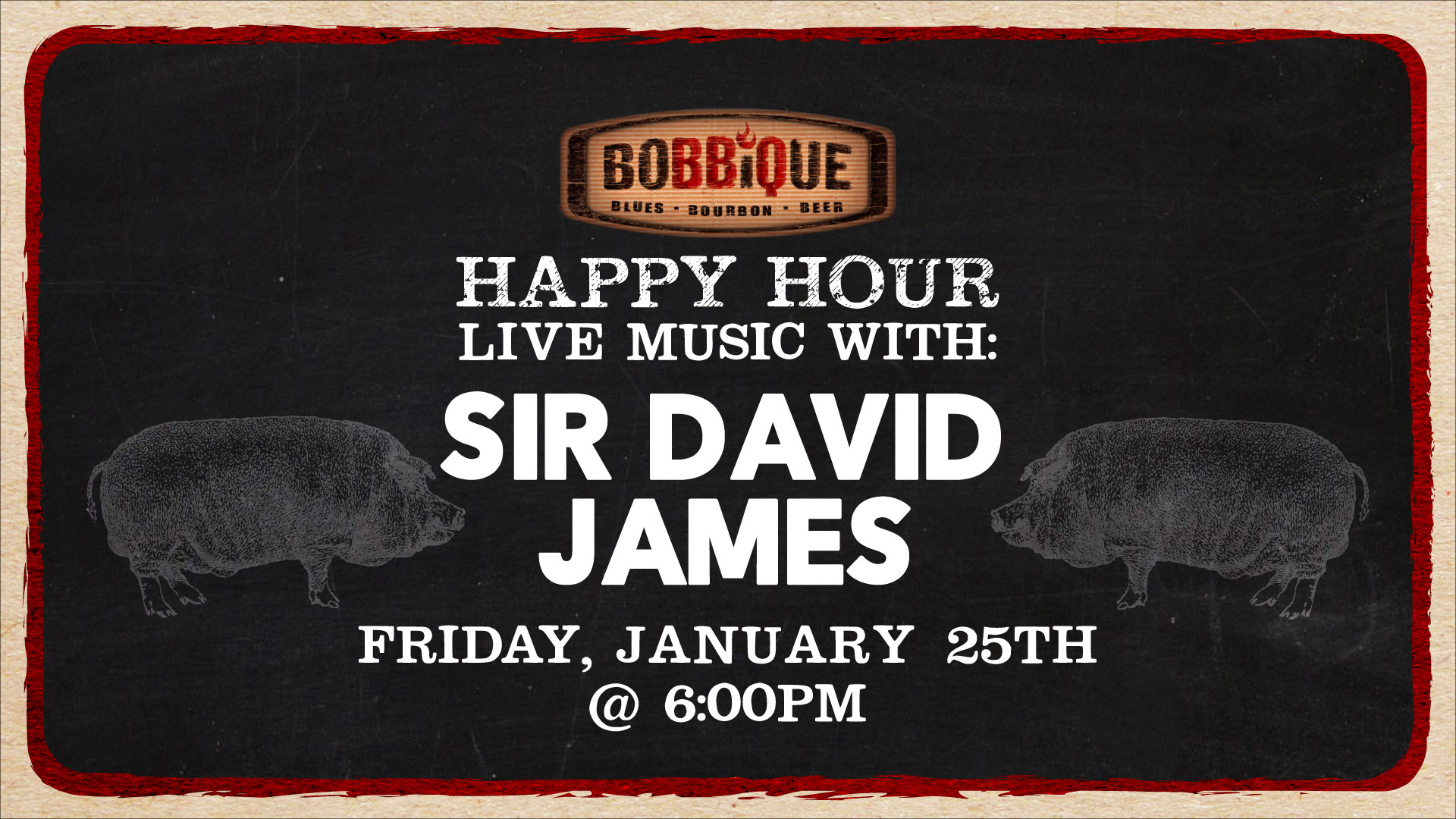 Happy Hour with Sir David James