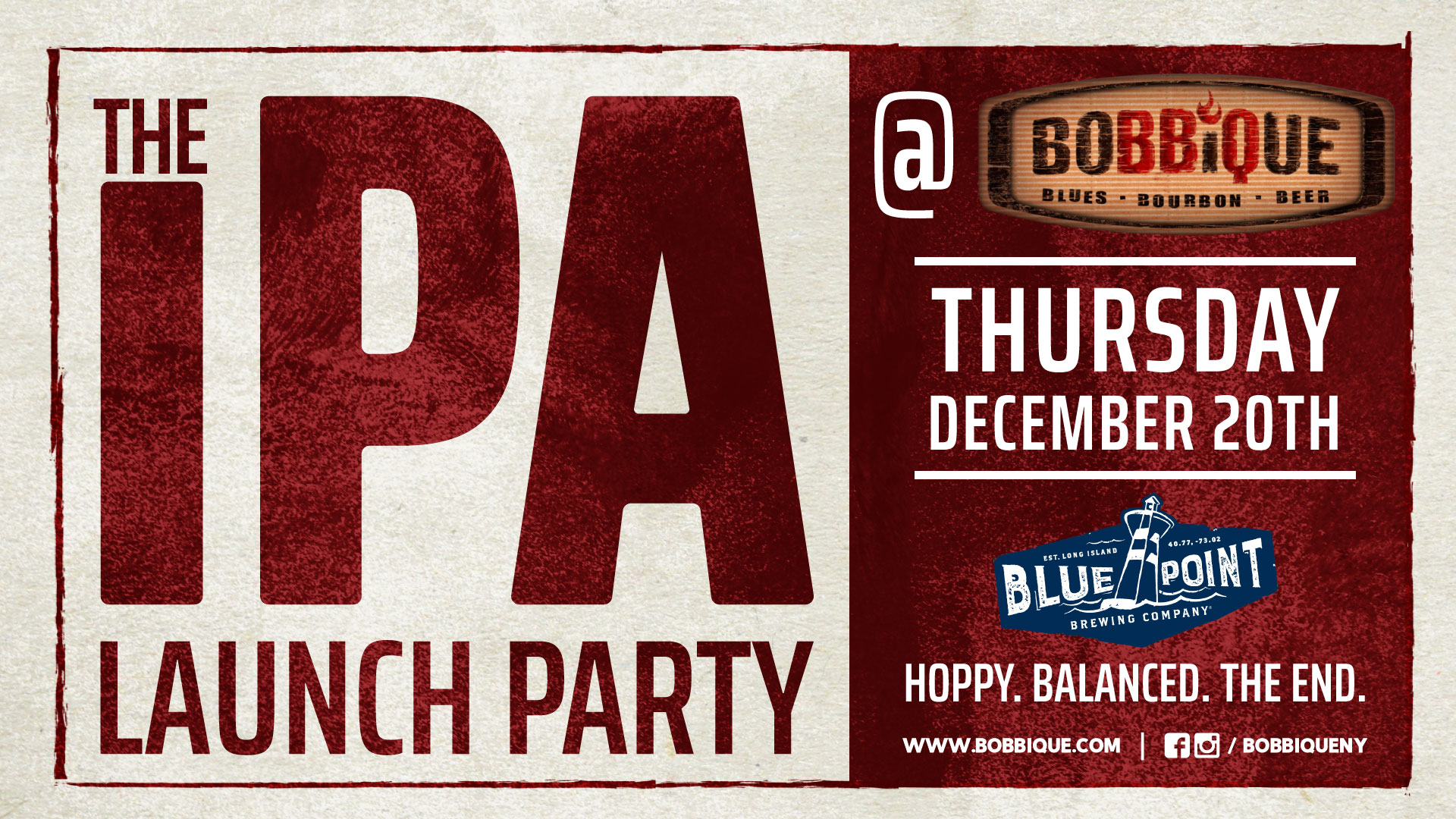 Blue Point Brewery IPA Launch