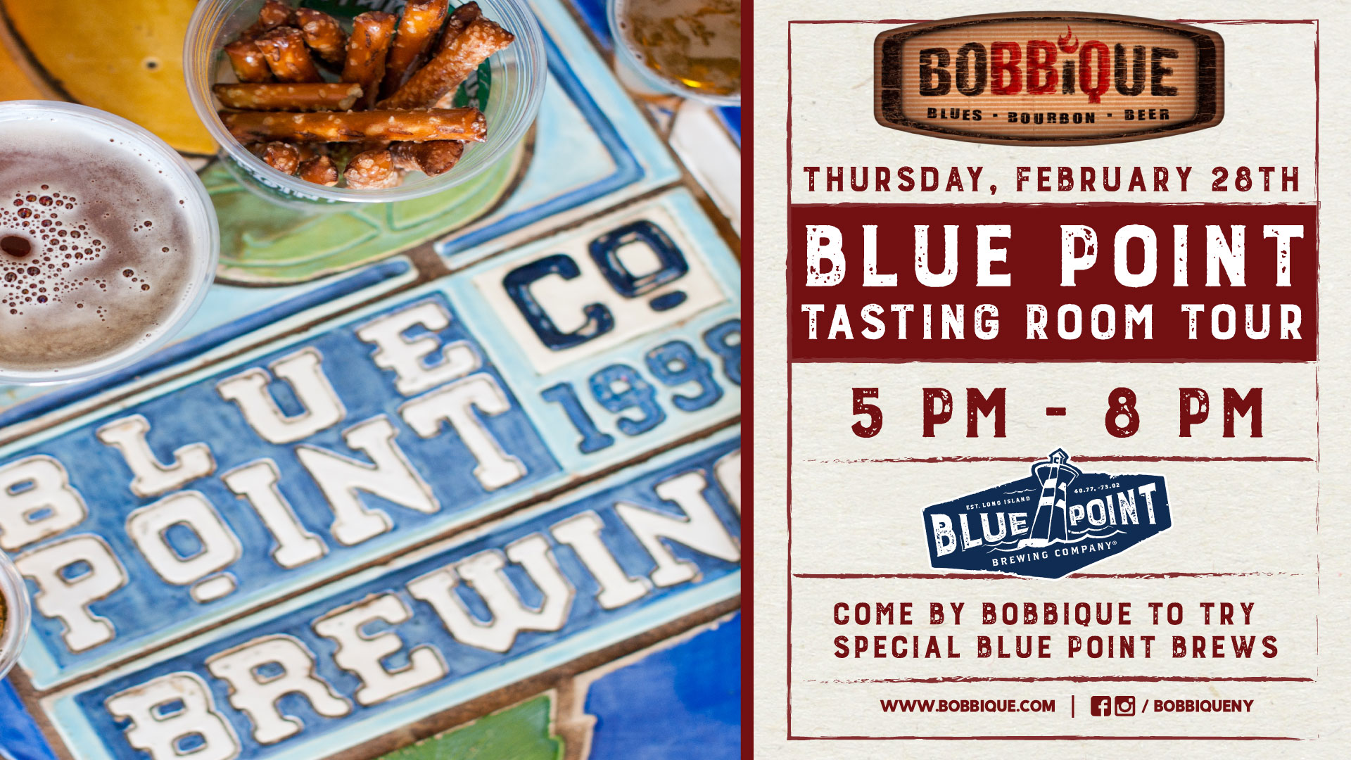 Blue Point Tasting Room Tour
