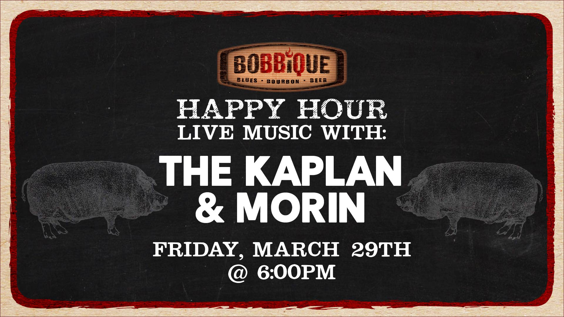 Happy Hour with The Kaplan & Morin