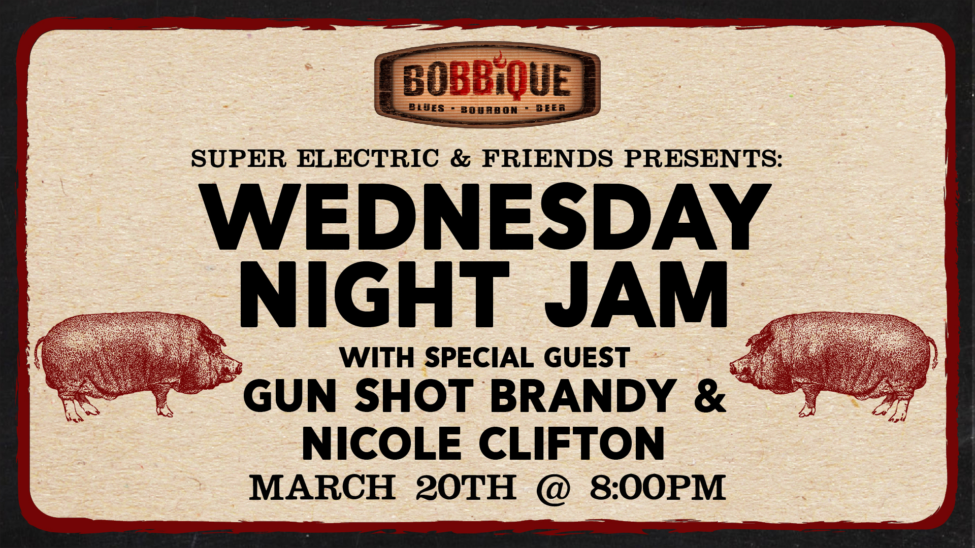Wednesday Night Jam with Super Electric & Friends