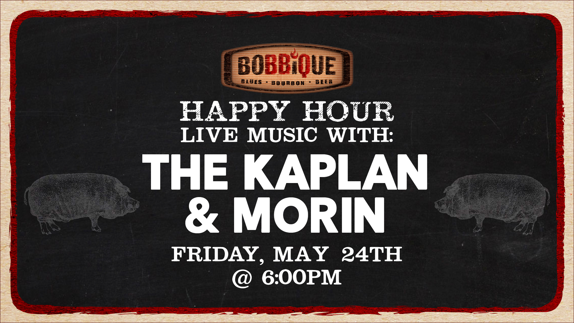 Happy Hour with the Kaplin and Morin