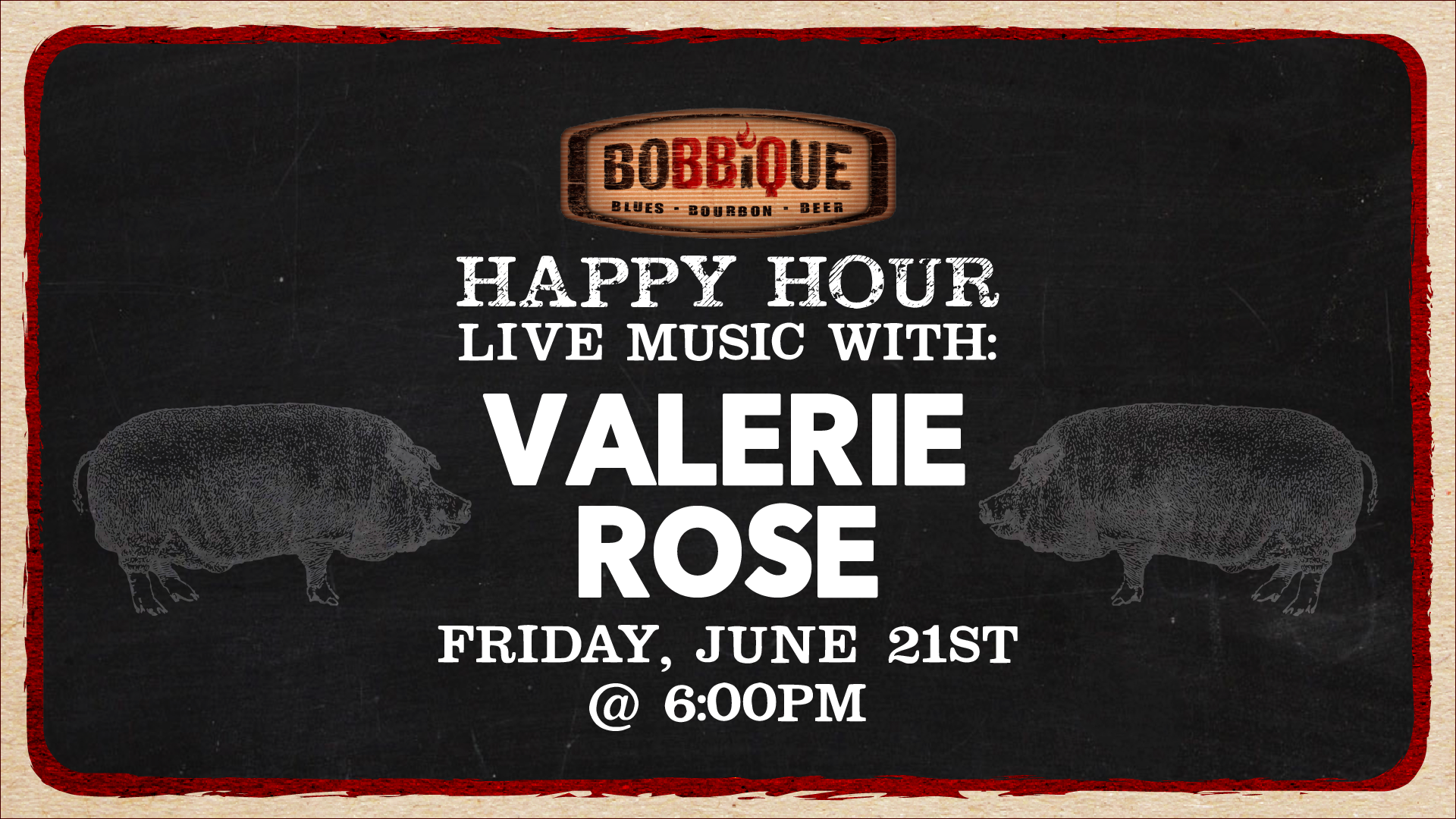 Happy Hour with Valerie Rose