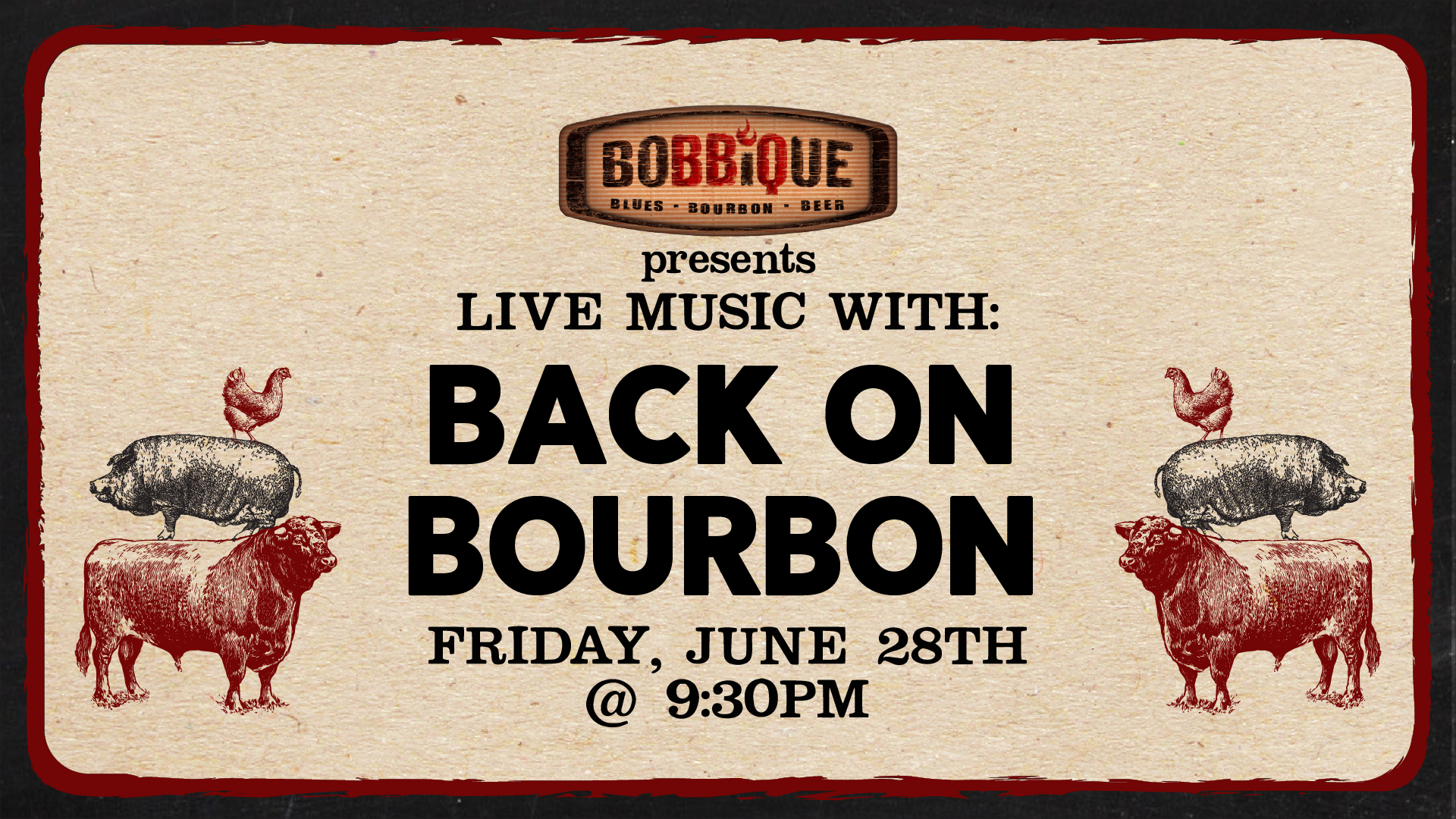 Live Music with Back on Bourbon