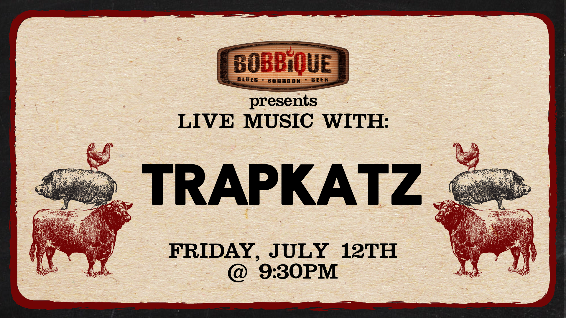 Live Music with the Trapkatz