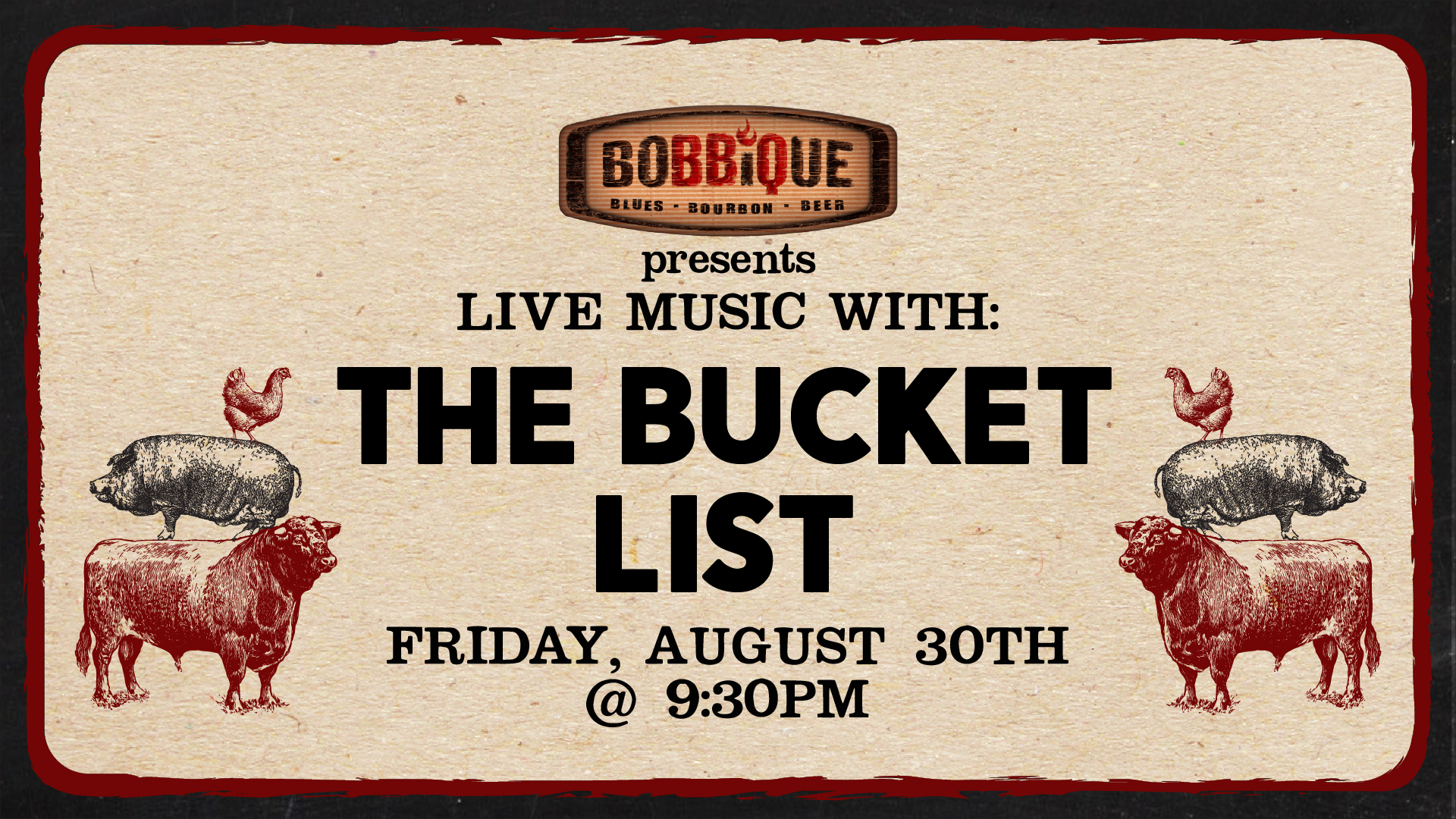 Live Music with The Bucket List