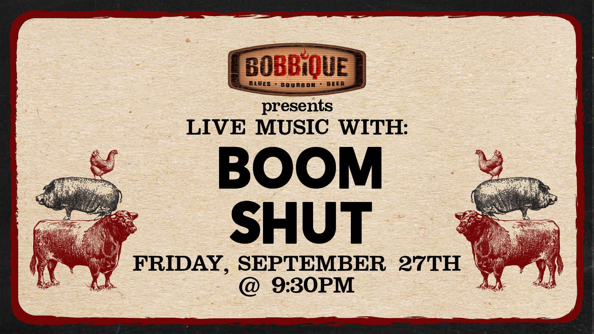 Live Music with Boom Shut