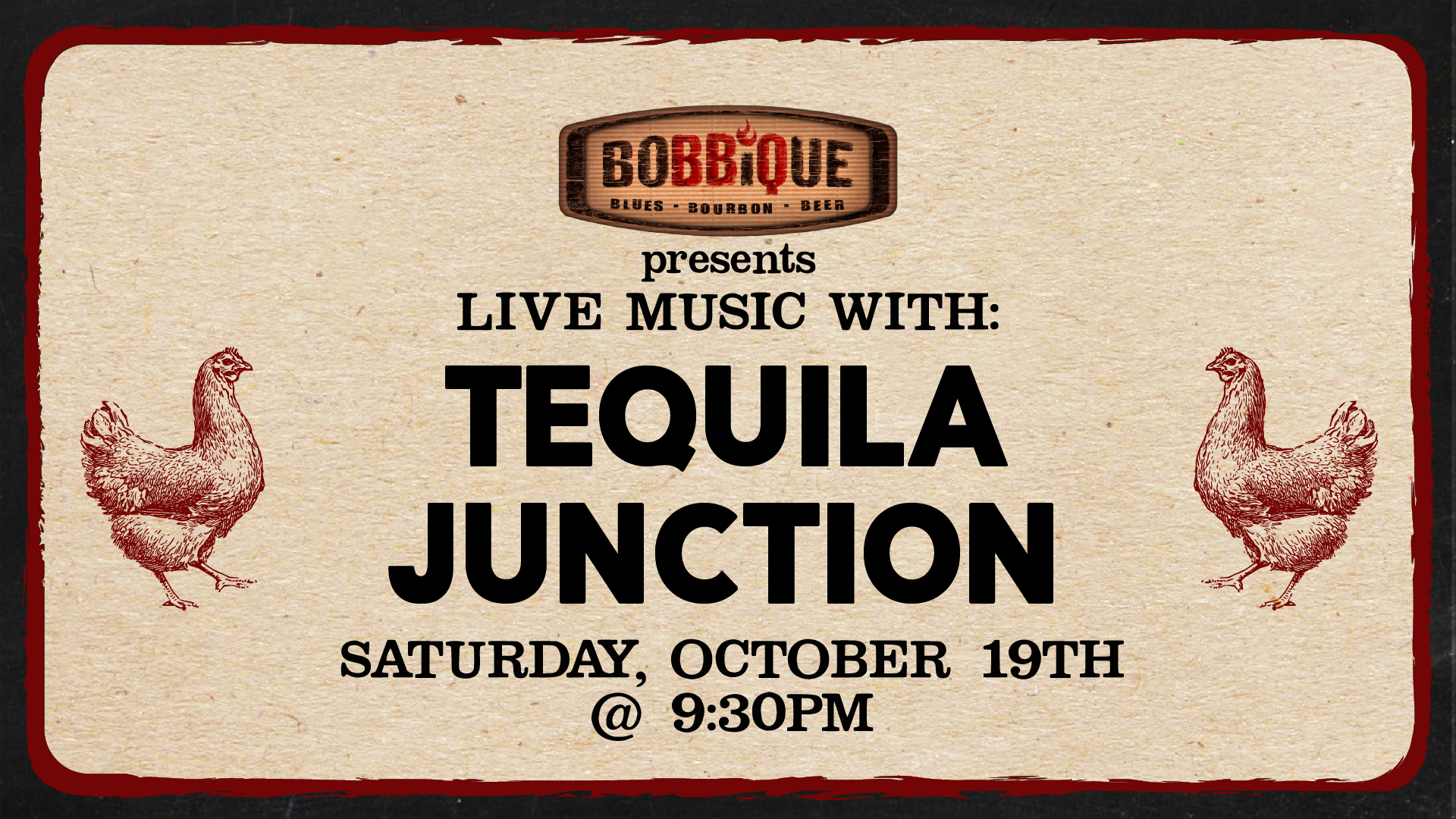 Live Music with Tequila Junction