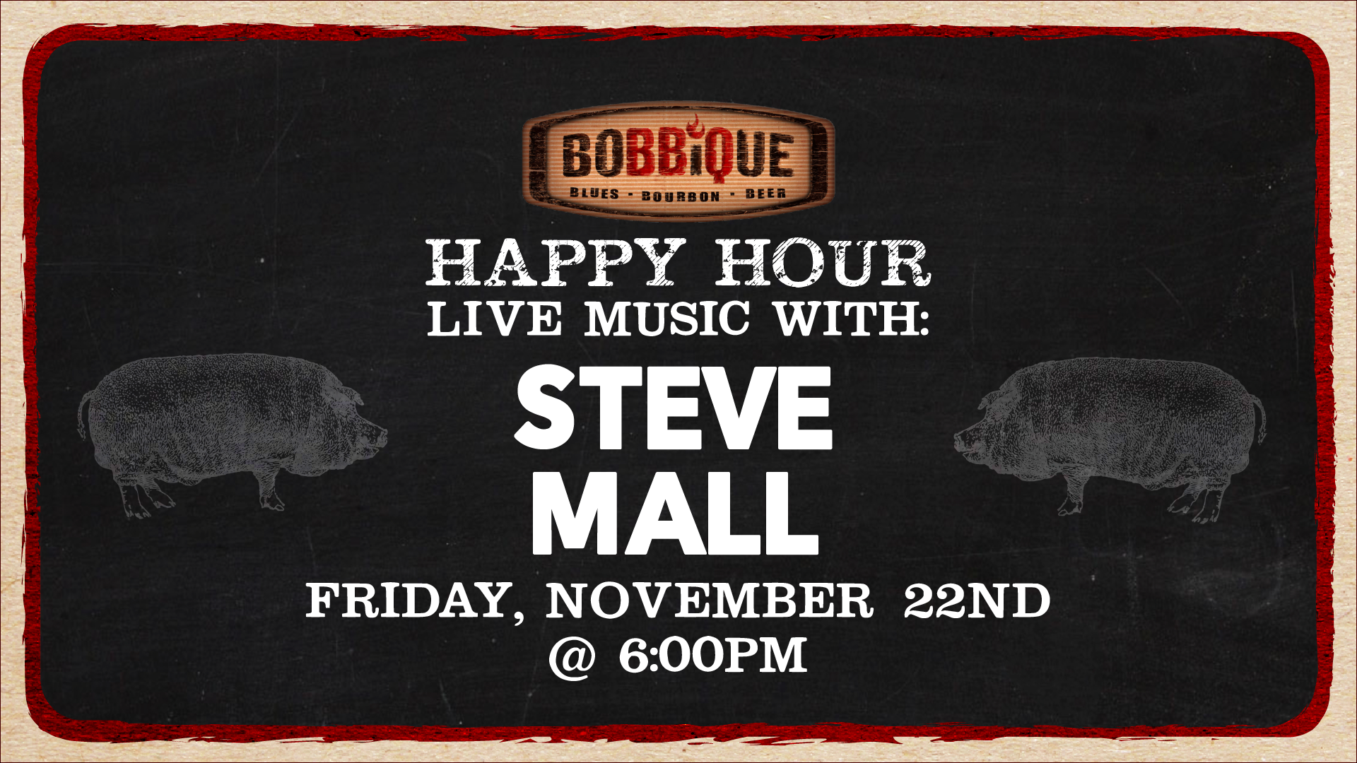 Happy Hour with Steve Mall