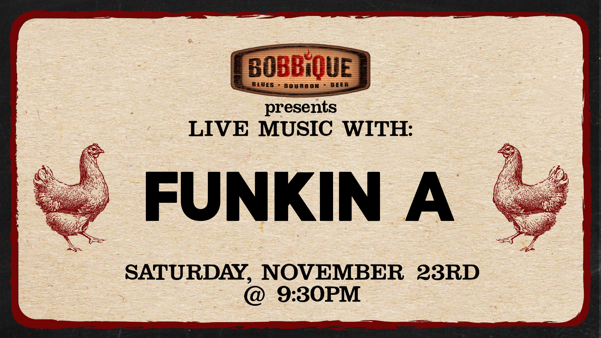 Live Music with Funkin A