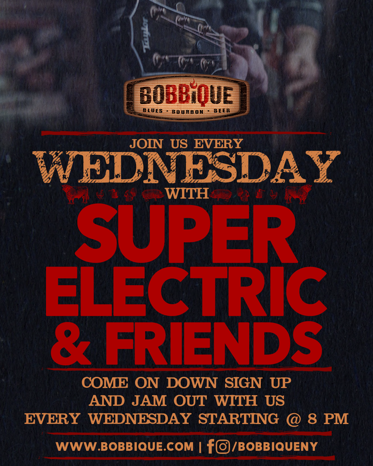 The Every Wednesday Jam with Super Electric & Friends
