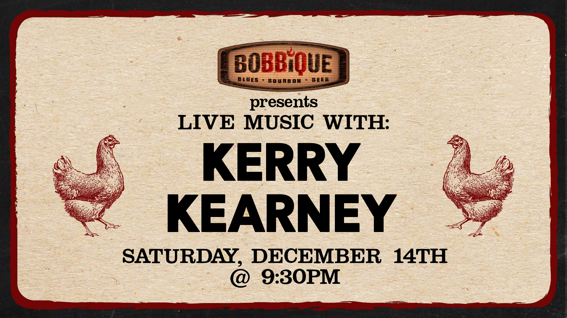 Live Music with Kerry Kearney