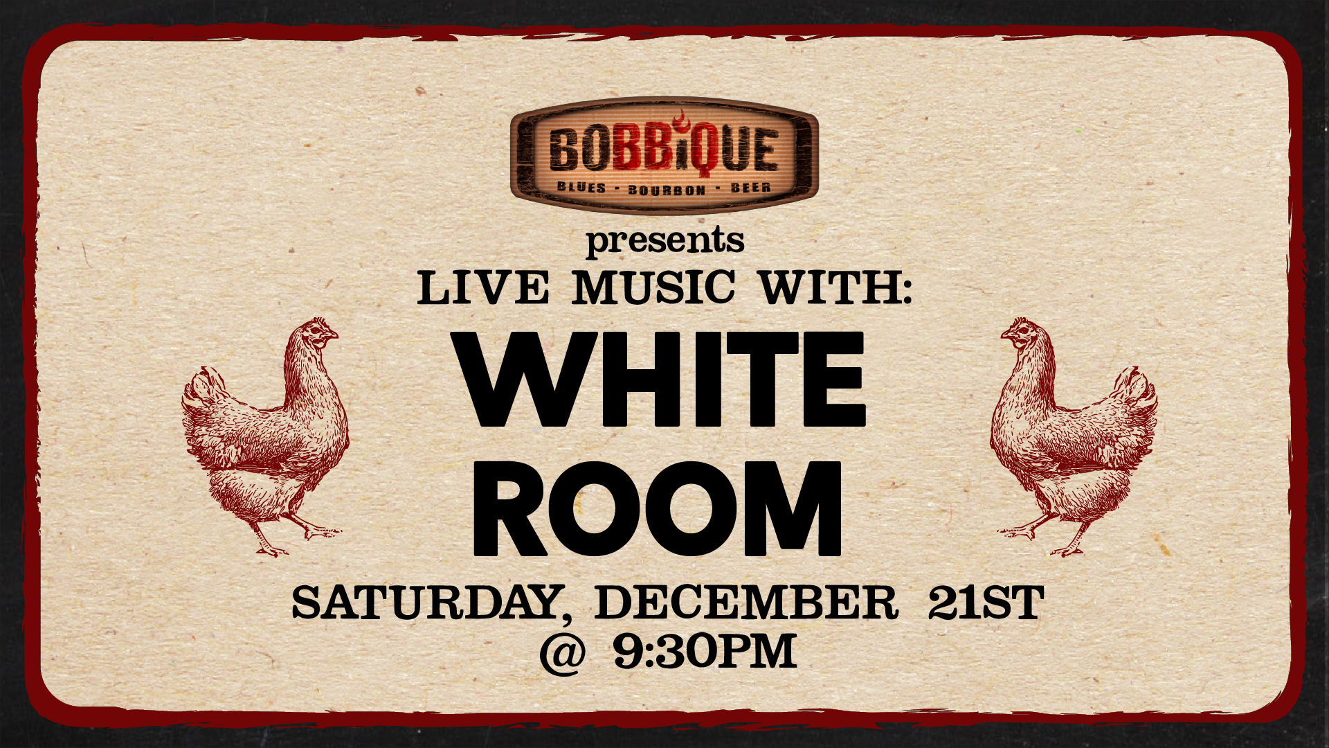 Live Music with White Room
