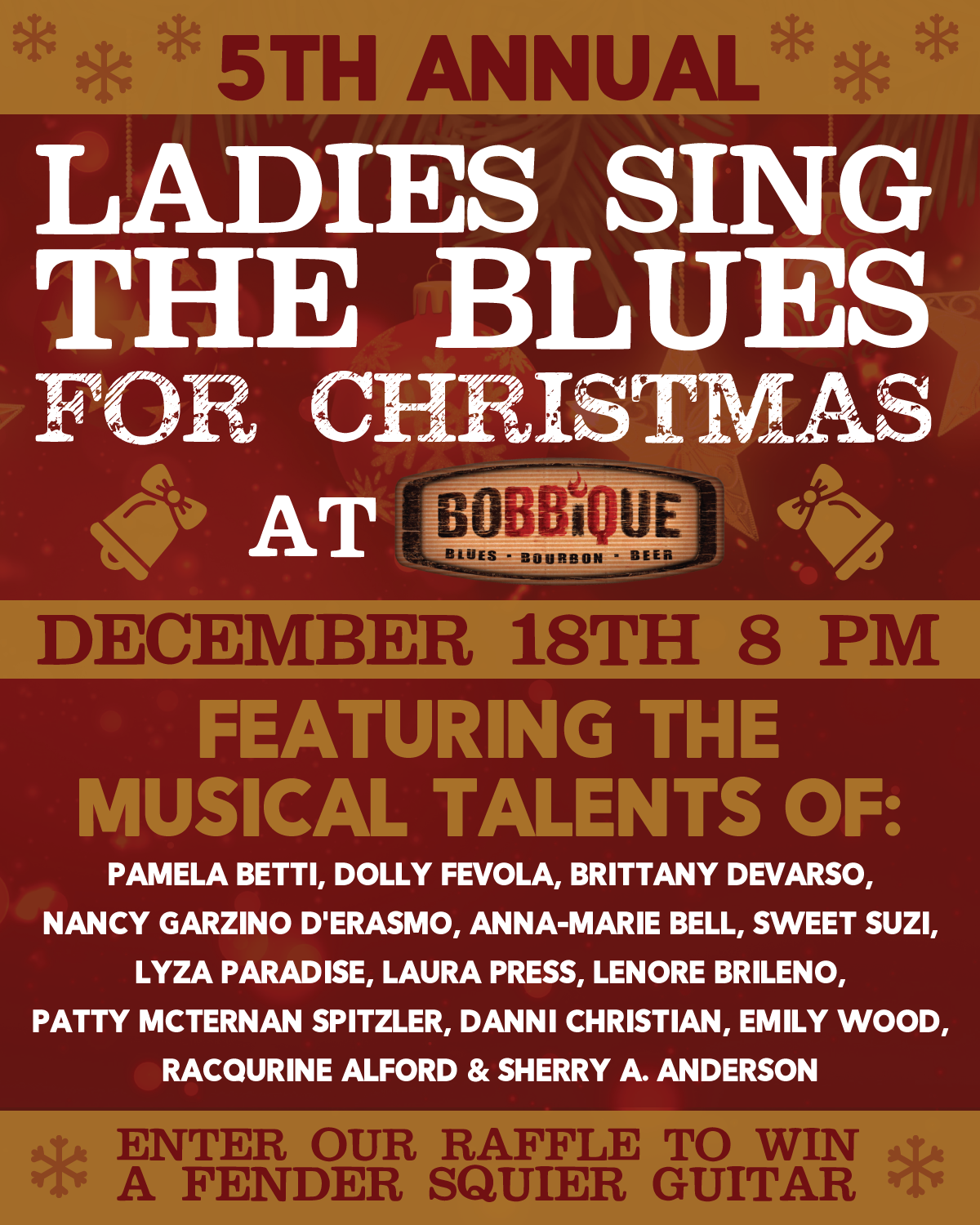Ladies Sing the Blues for Christmas