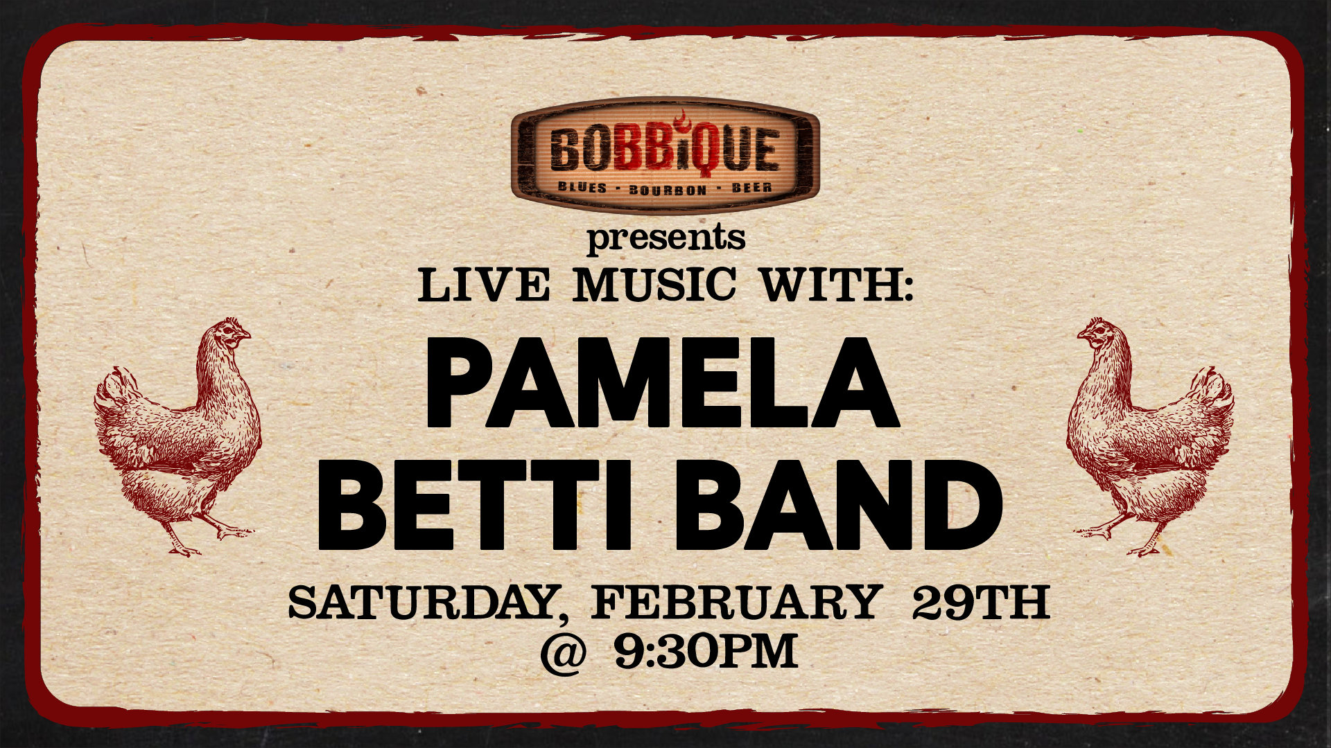 Live Music with Pamela Betti